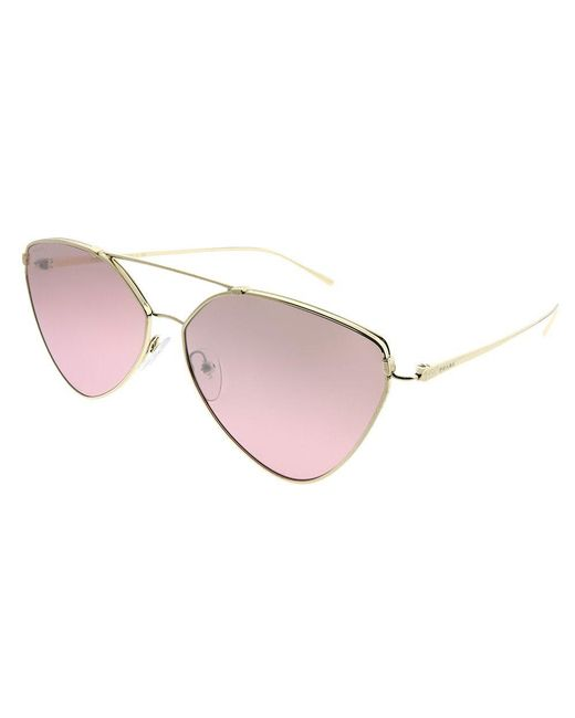 Prada - Multicolor Pr 51us Zvn095 Pale Gold Aviator Sunglasses - Lyst