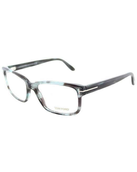 9a1ce549f9 Tom Ford - Gray Ft 5313 086 Melange Grey Square Eyeglasses - Lyst ...