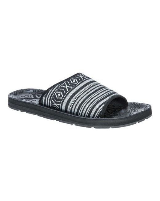 Muk Luks - Black Men's Hendrix Slide Sandal for Men - Lyst