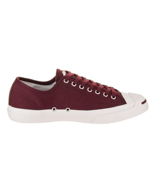 a5a5ae6ada62 ... Converse - Red Unisex Jack Purcell Jack Ox Casual Shoe for Men - Lyst  ...