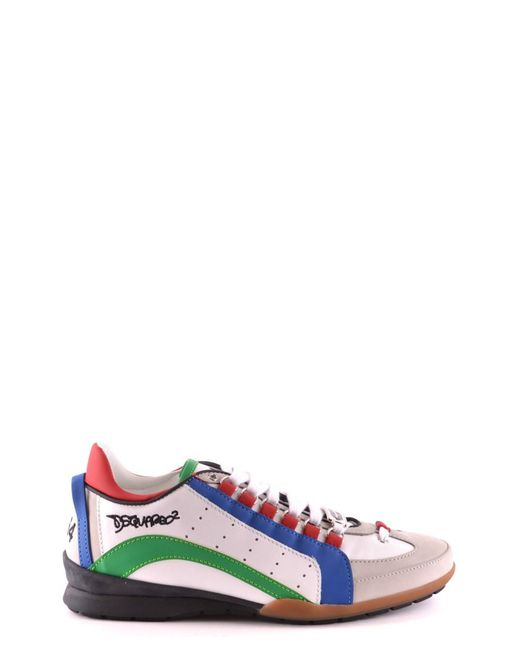 DSquared² - Men's W16sn434714m650 Multicolor Leather Sneakers for Men - Lyst