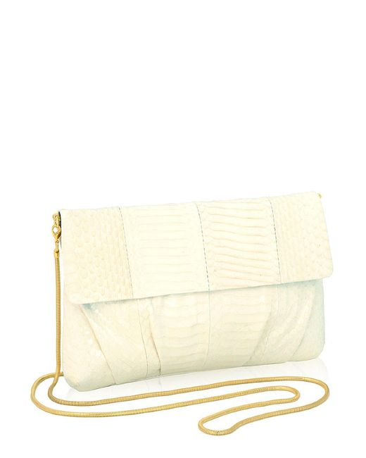 Inge Christopher - White Erin Clutch - Lyst