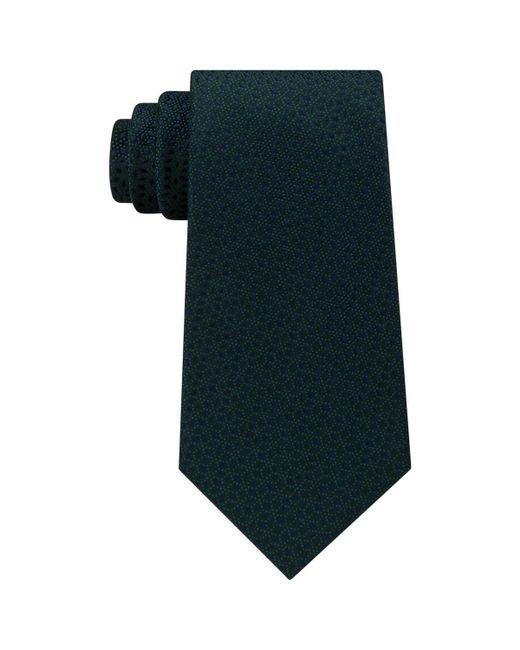 Michael Kors - Green Mens Pindot Ground Diamonds Silk Printed Neck Tie for Men - Lyst