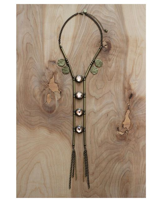 Love Leather | Multicolor Temple Of Dreams Necklace | Lyst