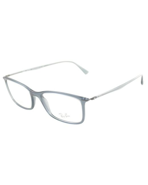 Ray-Ban - Multicolor Lightray Rectangle Plastic Eyeglasses - Lyst