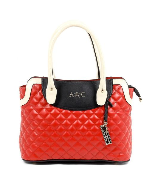 Andrew Charles by Andy Hilfiger | Andrew Charles Womens Handbag Red Hope | Lyst