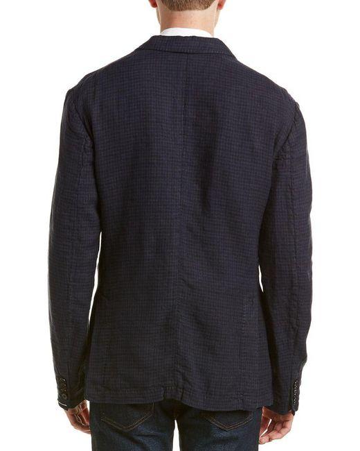 939623768b ... J.Lindeberg - Multicolor J.lindeberg Hopper Slim Fit Sportcoat for Men  - Lyst ...