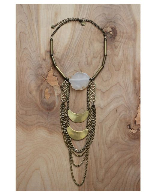 Love Leather   Multicolor Mystic Moons Necklace   Lyst