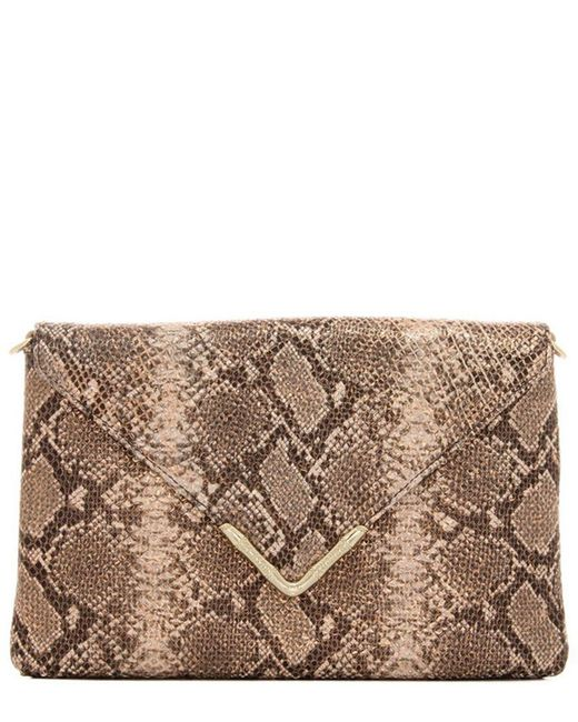 Elaine Turner - Multicolor Leather Clutch - Lyst