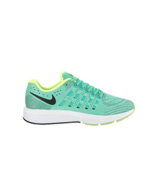 super popular 9fe51 8d443 ... real nike green womens air zoom vomero 11 running shoe 74517 b4f50