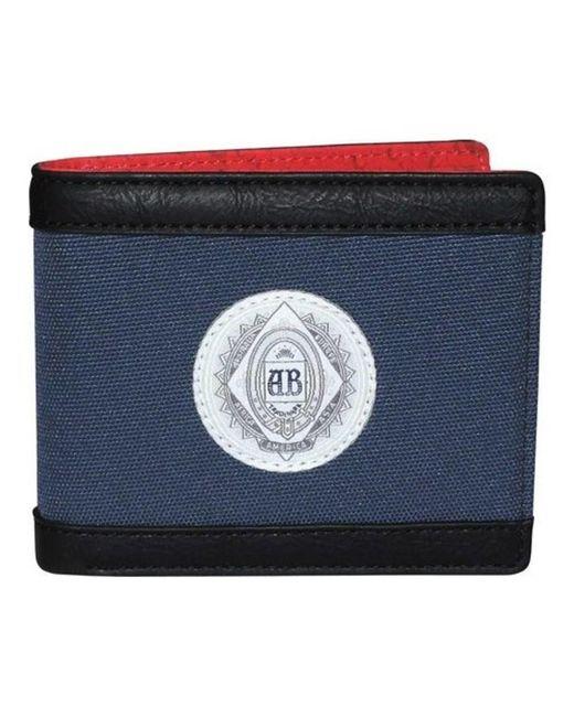 Buxton - Blue Men's Budweiser Slimfold Wallet for Men - Lyst