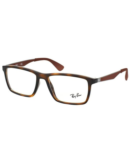 Ray-Ban - Multicolor Rectangle Plastic Eyeglasses - Lyst