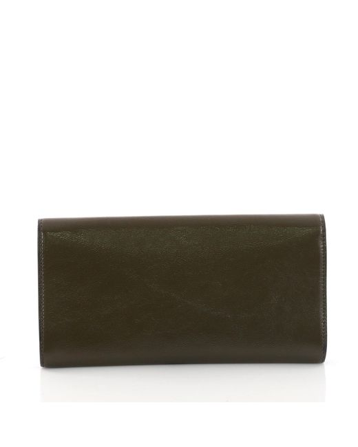 b4e92eee9bc8 ... Saint Laurent - Multicolor Pre Owned Belle De Jour Clutch Leather Small  - Lyst ...