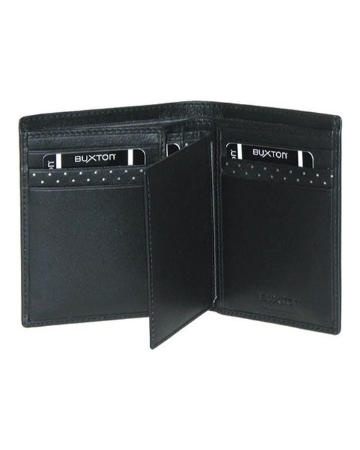 Buxton - Black Men's Luciano Rfid Deluxe Two-fold for Men - Lyst