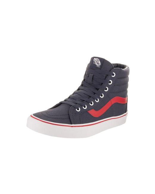 Vans - Blue Unisex Sk8-mid Reissue (pop) Skate Shoe for Men - Lyst