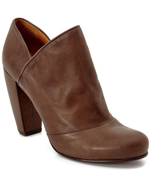Coclico - Brown Caroll Leather Bootie - Lyst