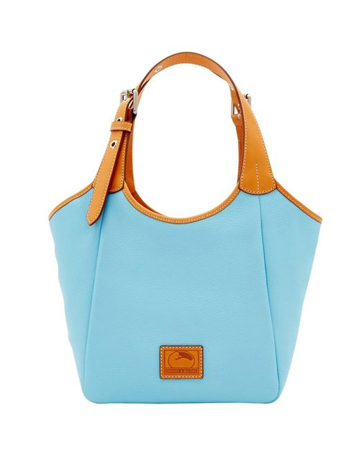 Dooney & Bourke - Blue Patterson Leather Penelope - Lyst