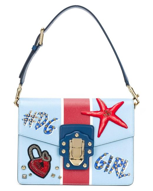 Dolce & Gabbana - Blue Welcome Tote Bag - Lyst