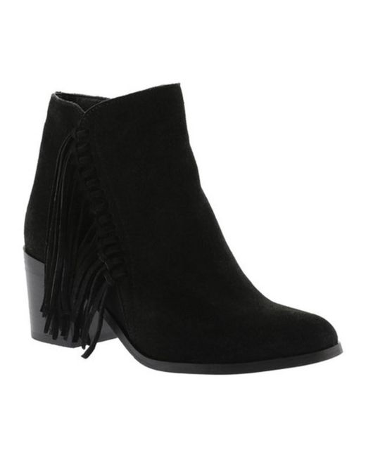 Kenneth Cole Reaction | Black Women's Rotini Fringe Bootie | Lyst