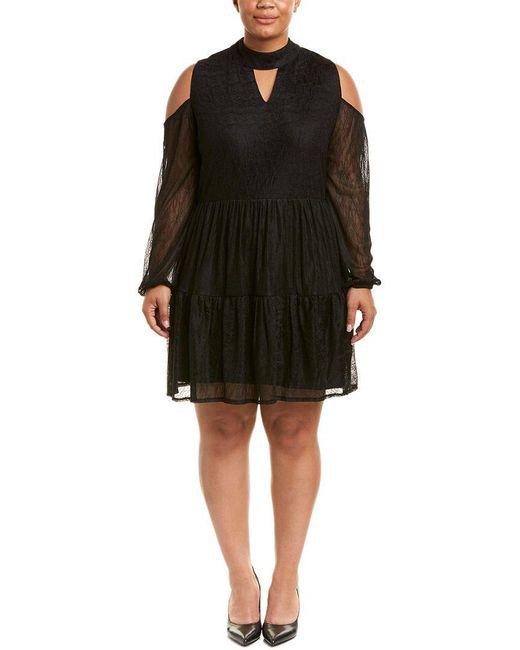 Lyssé - Black Plus Shift Dress - Lyst