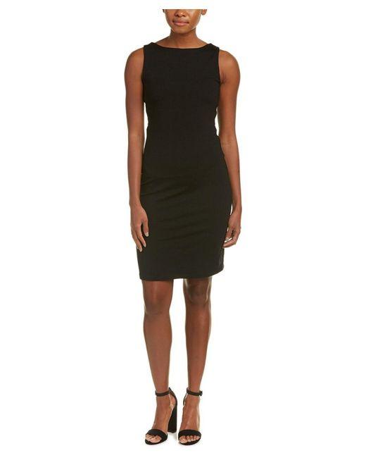 Susana Monaco - Black Andrea Sheath Dress - Lyst