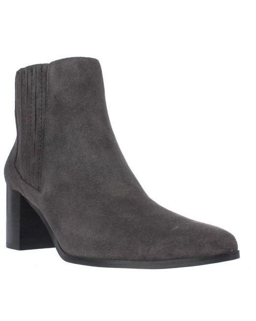 Charles David - Gray Unity Pull On Ankle Boots - Stingrey - Lyst