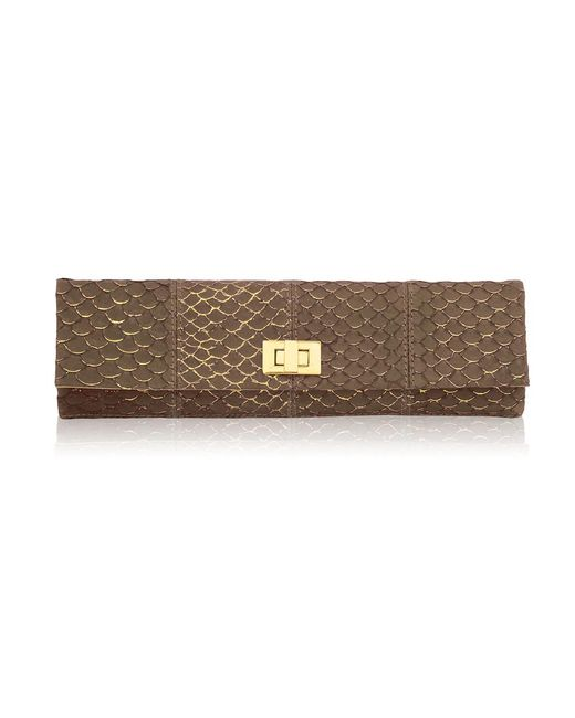 Inge Christopher - Brown Corsica Long Clutch - Lyst
