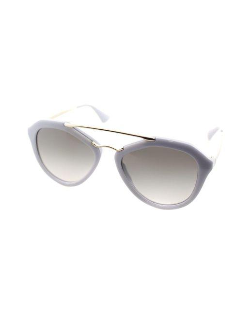 Prada - Multicolor Cinema Pr 12qs Tv30a7 Gray Designer Sunglasses - Lyst