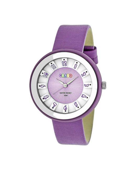 Crayo - Purple Men's Celebration Quartz Watch for Men - Lyst