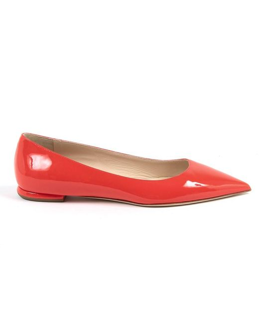 Andrew Charles by Andy Hilfiger - Womens Ballerina Red Baltimore - Lyst
