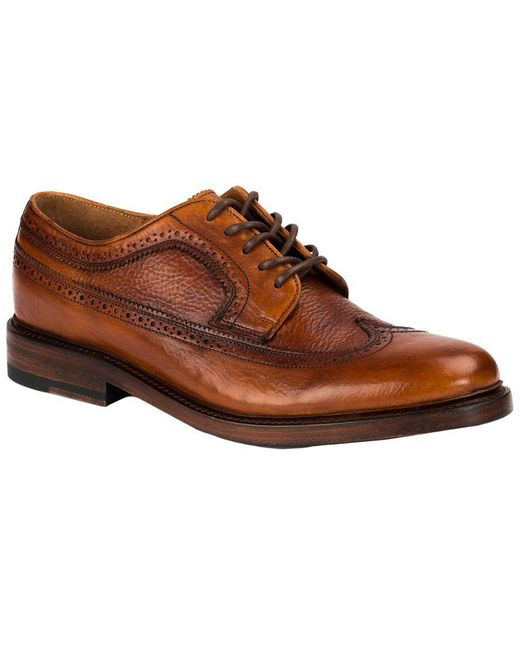 7e9822e893ff Lyst - Frye Jones Wingtip Oxford in Brown