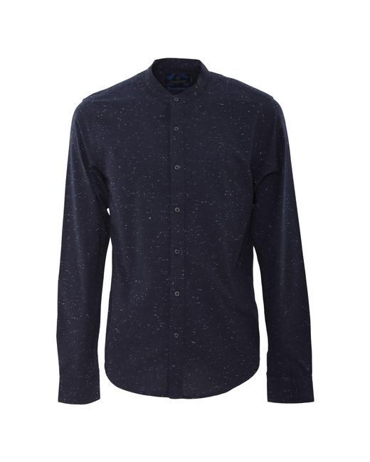 Scotch & Soda - Men's Blue Cotton Shirt for Men - Lyst