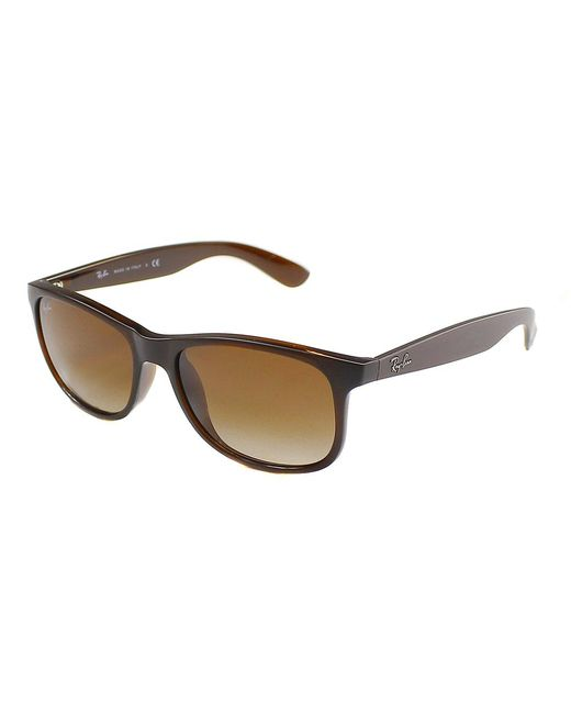 Ray-Ban - Brown Andy Wayfarer Plastic Sunglasses - Lyst