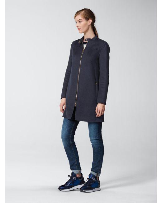 Bogner   Blue Short Coat Maela   Lyst