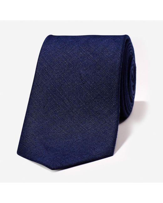 Bonobos | Blue Linen Necktie for Men | Lyst