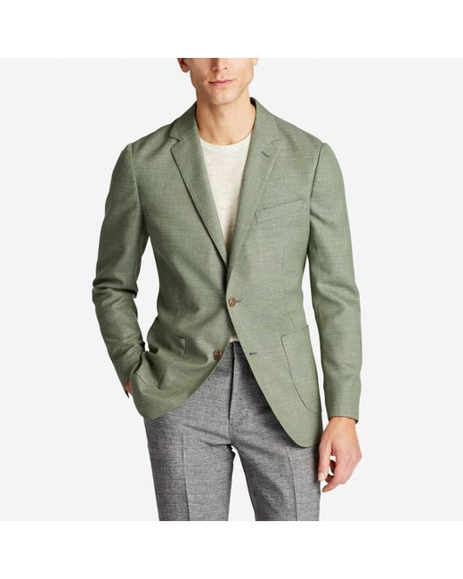 Bonobos - Green Unconstructed Italian Wool Blazer for Men - Lyst