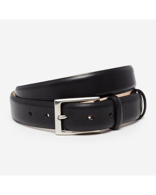 Bonobos - Black Leather Dress Belt for Men - Lyst