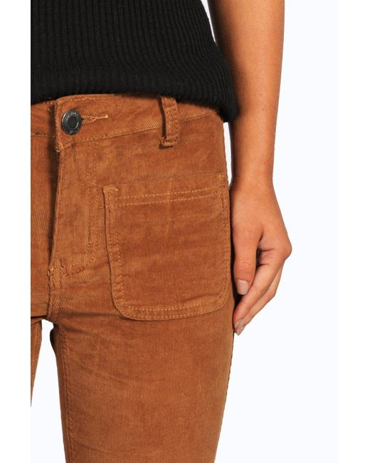 Trouser Corduroy Pants: The leg was a little more flared then I had expected but they look and feel great. I purchased the petite size and the length was also spot on. Will definitely consider buying another pair.