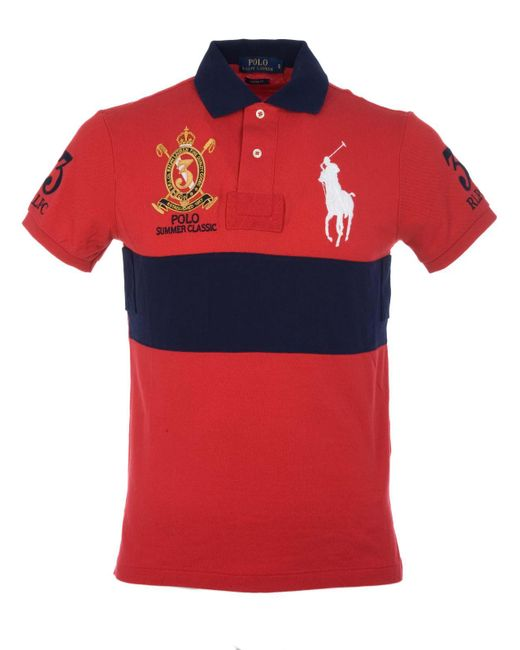 Polo Ralph Lauren - Red Polo for Men - Lyst