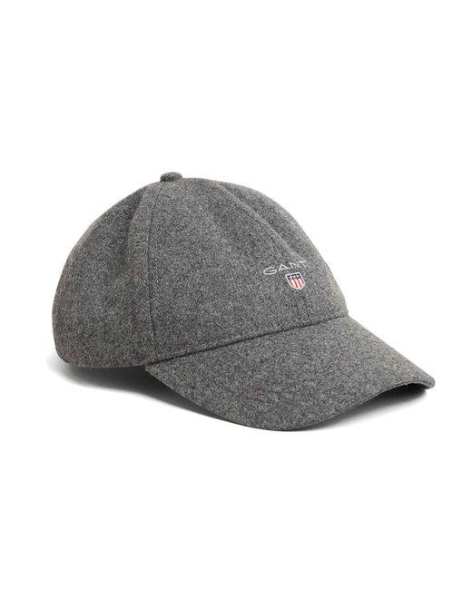 Gant - Gray O2. Melton Cap for Men - Lyst ... 1b064b33c914