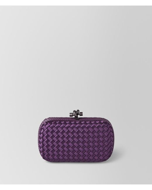Bottega Veneta - Purple Monalisa Intrecciato Impero Chain Knot - Lyst