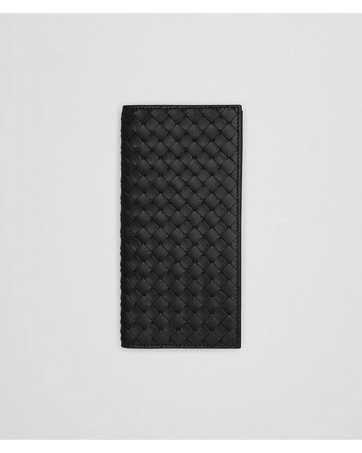 Bottega Veneta - Black Nero Intrecciato Continental Wallet for Men - Lyst