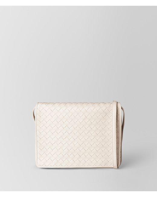 73f7ebc167 Bottega Veneta - Multicolor Crossbody Bag In Intrecciato Nappa - Lyst ...