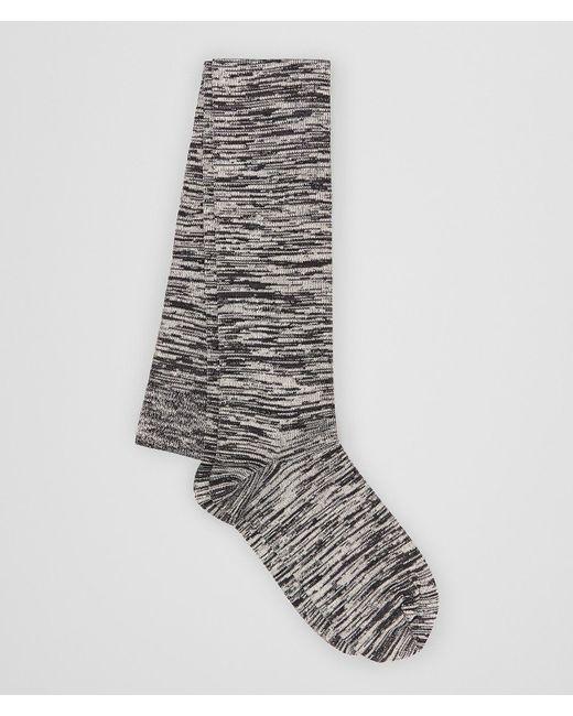 Bottega Veneta - Gray Socks In Cotton - Lyst