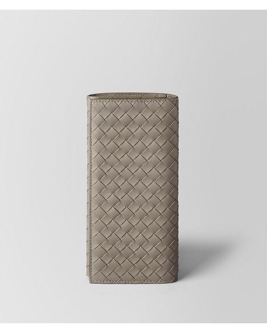 Bottega Veneta - Multicolor Dark Cement Intrecciato Vn Continental Wallet - Lyst