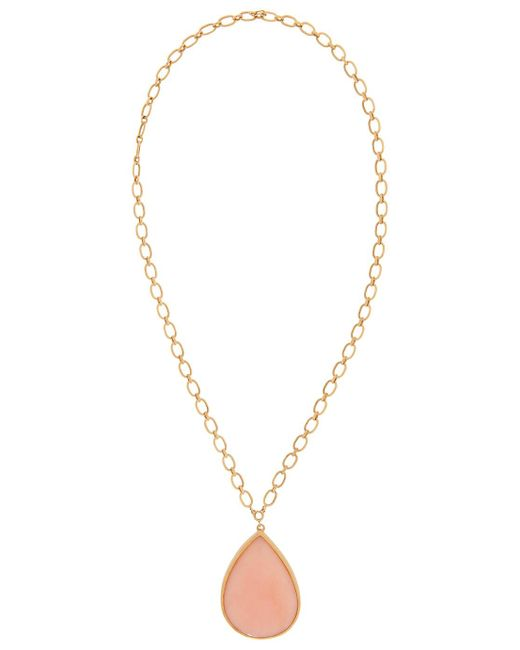 Irene Neuwirth | Metallic Pear Shape Pendan | Lyst