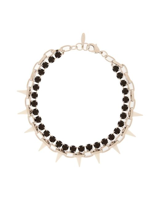 Joomi Lim | Multicolor Crystal & Spike Choker Chain | Lyst
