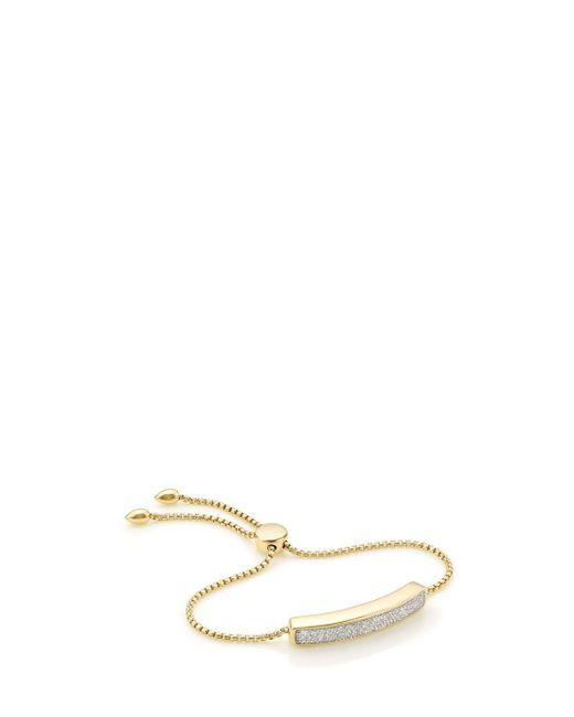 Monica Vinader | Multicolor Baja Diamond Bracelet | Lyst