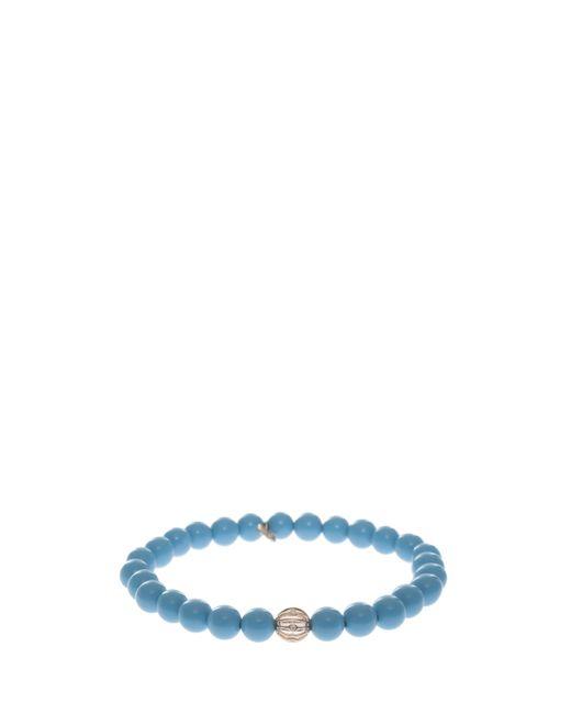 Sydney Evan | Blue Bezel Ball Bracelet | Lyst