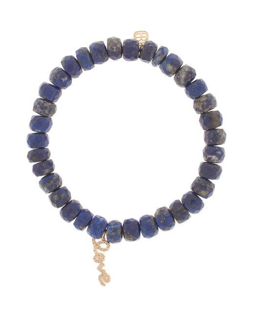 Sydney Evan   Blue Love Charm Bracelet   Lyst